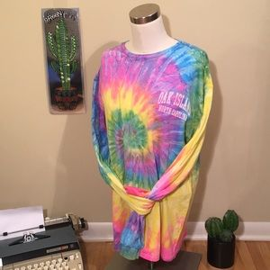 Other - Tie Dye Psychedelic Long Sleeve Hippie Shirt